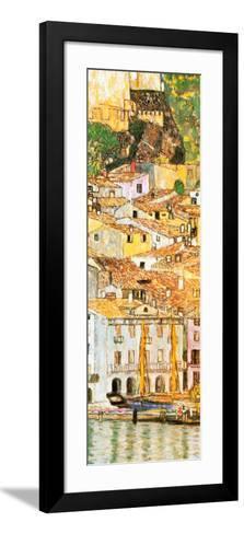 Malcesine sul Garda (detail)-Gustav Klimt-Framed Art Print