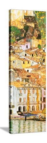 Malcesine sul Garda (detail)-Gustav Klimt-Stretched Canvas Print