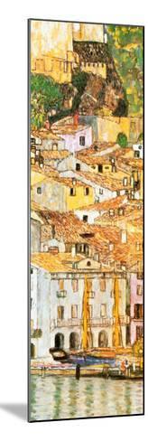 Malcesine sul Garda (detail)-Gustav Klimt-Mounted Art Print