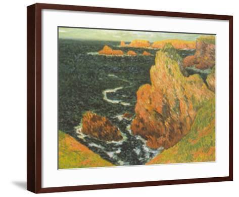 Belle Ile-Claude Monet-Framed Art Print