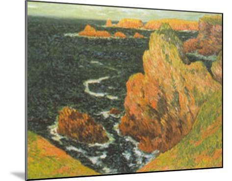 Belle Ile-Claude Monet-Mounted Art Print