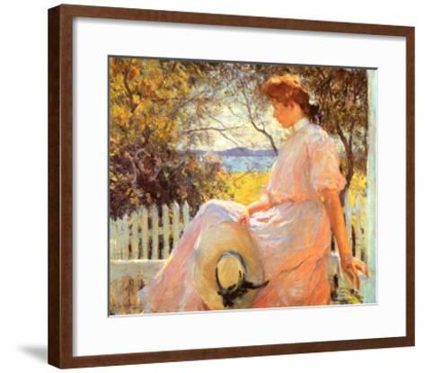 Eleanor-Frank Weston Benson-Framed Art Print