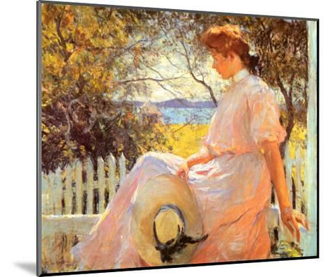 Eleanor-Frank Weston Benson-Mounted Art Print