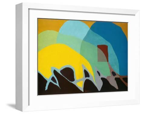 Dancing Willows-Arthur G^ Dove-Framed Art Print