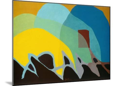 Dancing Willows-Arthur G^ Dove-Mounted Art Print