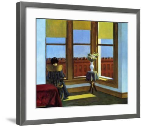 Room In Brooklyn-Edward Hopper-Framed Art Print