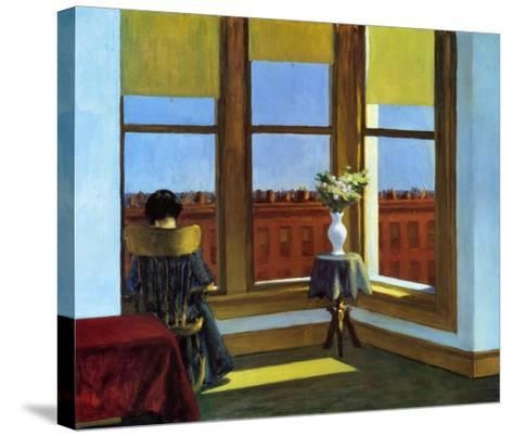 Room In Brooklyn-Edward Hopper-Stretched Canvas Print