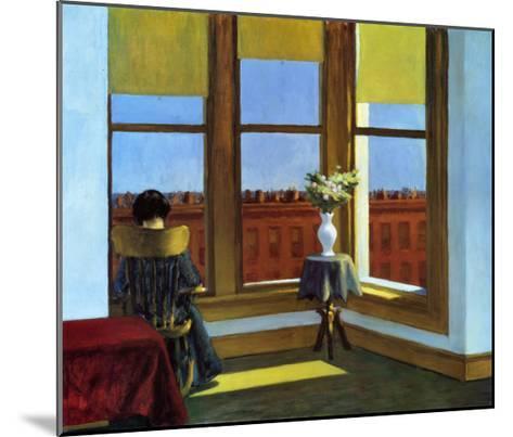 Room In Brooklyn-Edward Hopper-Mounted Art Print