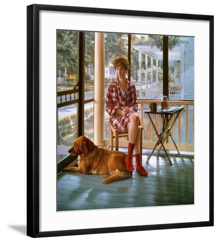 Nanny And Rose-Scott Prior-Framed Art Print