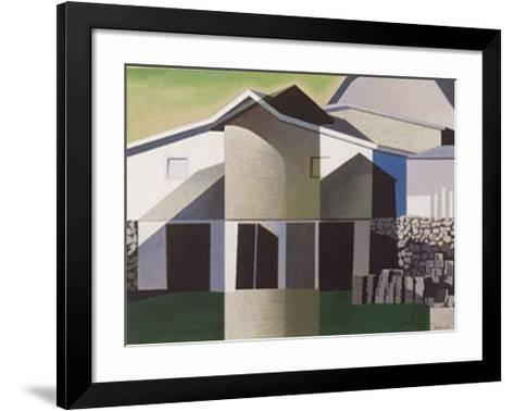Lunenburg-Charles Sheeler-Framed Art Print