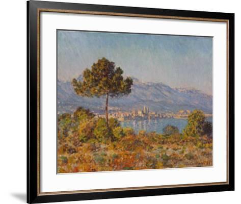 Antibes- Notre-dame-Claude Monet-Framed Art Print