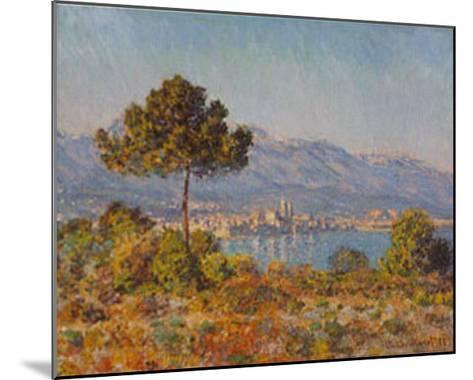 Antibes- Notre-dame-Claude Monet-Mounted Art Print