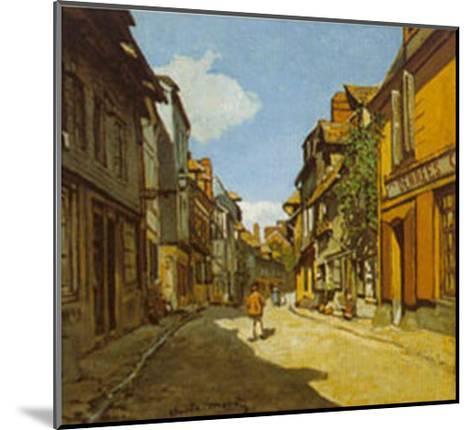 Rue De La Bavolle-Claude Monet-Mounted Art Print