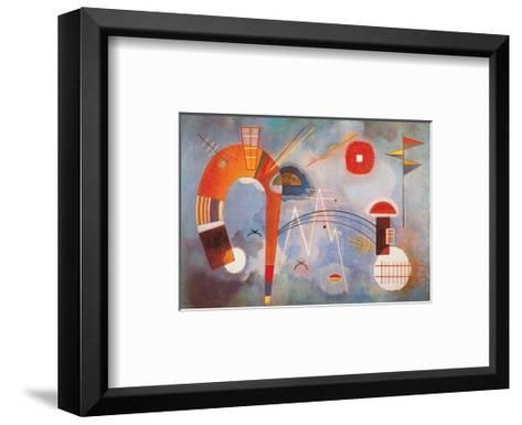 Rond et Pointu, c.1939-Wassily Kandinsky-Framed Art Print