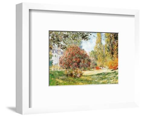 The Park at Monceau-Claude Monet-Framed Art Print