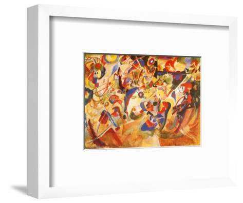 Study for Komposition VII-Wassily Kandinsky-Framed Art Print