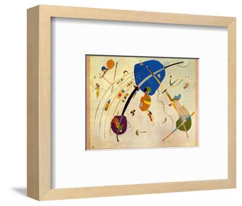 Vers Le Blue, c.1939-Wassily Kandinsky-Framed Art Print