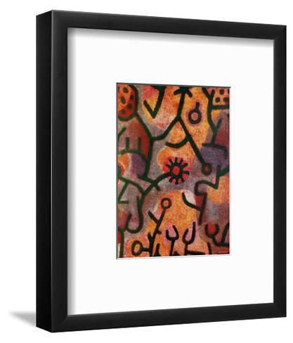 Flora di Roccia-Paul Klee-Framed Art Print