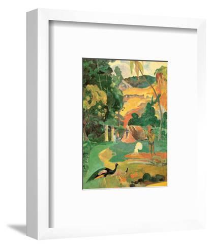 Matamoe-Paul Gauguin-Framed Art Print
