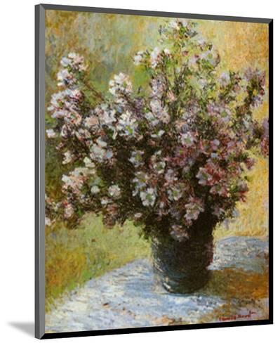 Viso di Malva-Claude Monet-Mounted Art Print