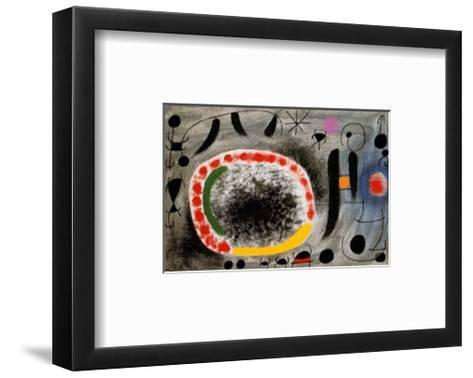 Liebeslied der Vogel-Joan Mir?-Framed Art Print