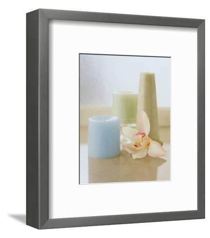 Spa Setting IV-Sondra Wampler-Framed Art Print