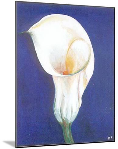 Iris I-D^ Ferrer-Mounted Art Print