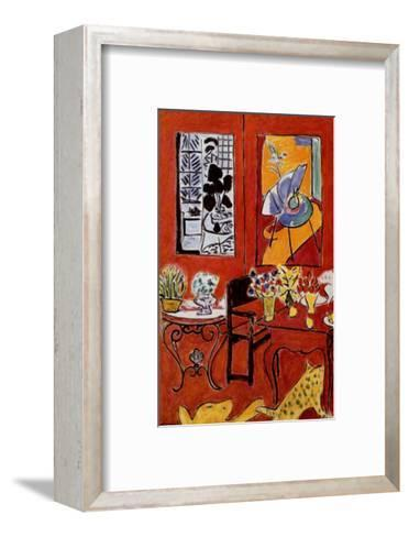 Large Red Interior, 1948-Henri Matisse-Framed Art Print