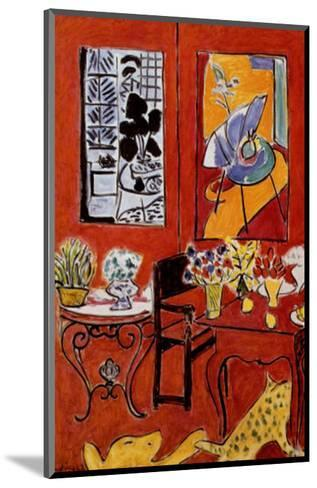 Large Red Interior, 1948-Henri Matisse-Mounted Art Print