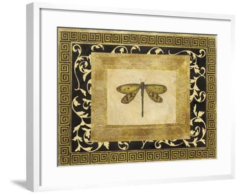 Dragon Fly I-Alan Hayes-Framed Art Print