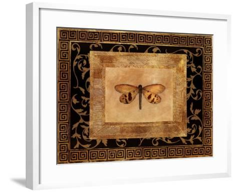 Dragon Fly II-Alan Hayes-Framed Art Print