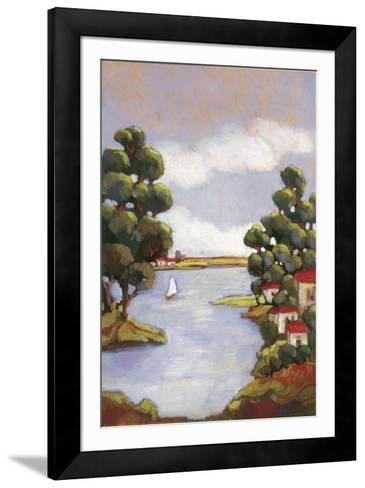 Lago Gardi I-Mindeli-Framed Art Print