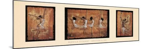 Rhythm and Joy-Monica Stewart-Mounted Art Print