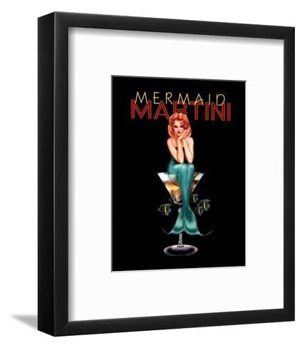 Mermaid Martini-Ralph Burch-Framed Art Print