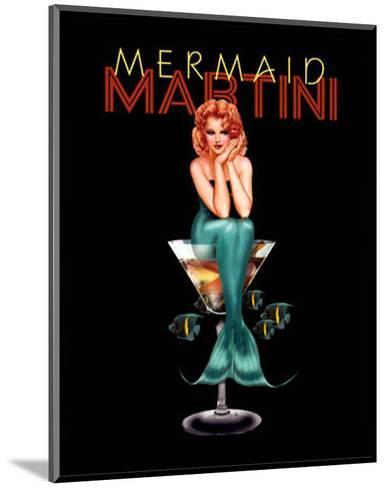 Mermaid Martini-Ralph Burch-Mounted Art Print