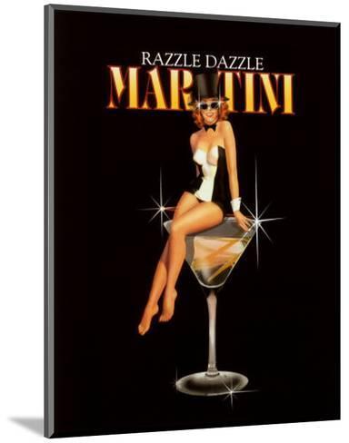 Razzle Dazzle Martini-Ralph Burch-Mounted Art Print