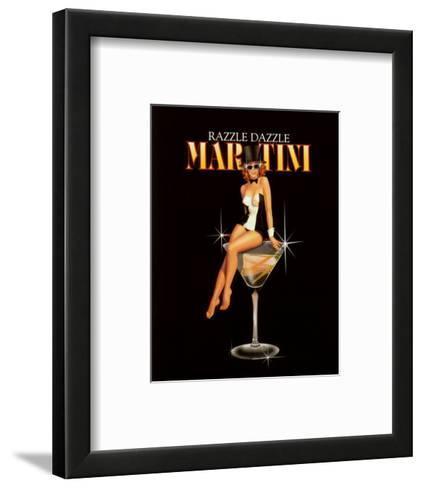 Razzle Dazzle Martini-Ralph Burch-Framed Art Print