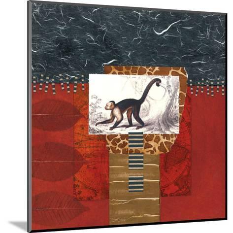 Savannah Monkey-Bryan Martin-Mounted Art Print