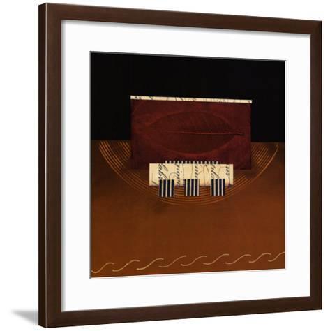 Cache-Bryan Martin-Framed Art Print