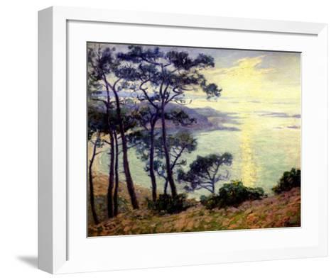 Pins au Bord de la Mer-Paul Madeline-Framed Art Print