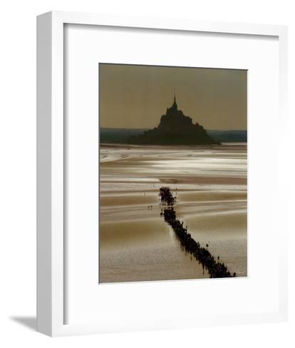 Mont St. Michel-Philip Plisson-Framed Art Print