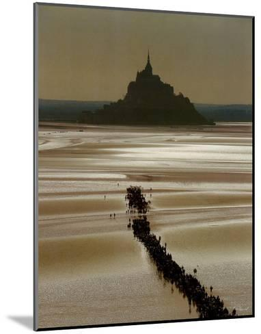 Mont St. Michel-Philip Plisson-Mounted Art Print
