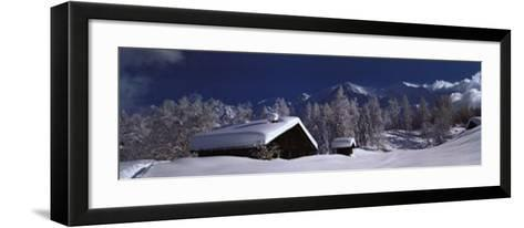 Les Houches-Patrice Labarbe-Framed Art Print