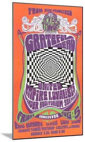 Grateful Dead in Concert, 1966 Framed Art Print by Bob