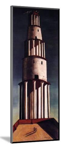 La Grande Torre-Giorgio De Chirico-Mounted Art Print