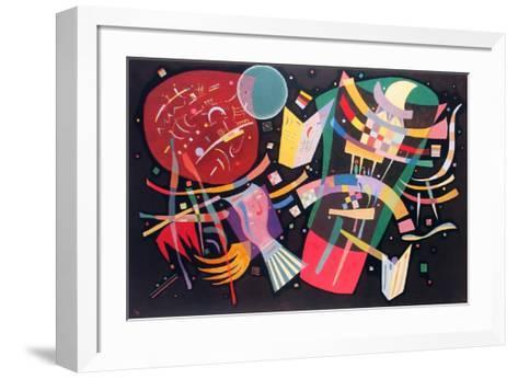 Komposition X, 1939-Wassily Kandinsky-Framed Art Print