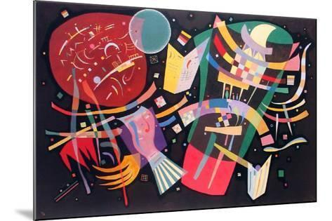 Komposition X, 1939-Wassily Kandinsky-Mounted Art Print