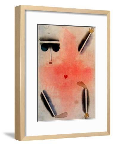 Hat Kopf, Hand, Fuss, 1930-Paul Klee-Framed Art Print