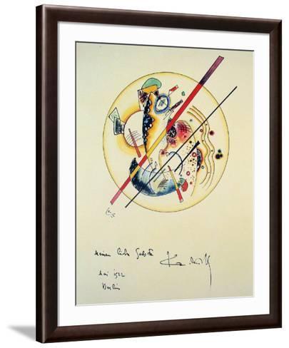 Aquarelle aus Dem, 1922-Wassily Kandinsky-Framed Art Print