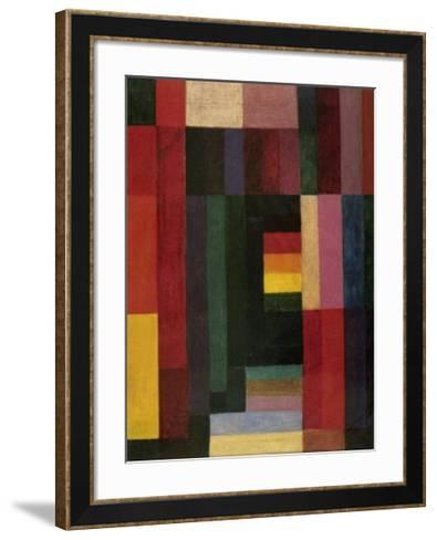 Horizontal/Vertikal-Johannes Itten-Framed Art Print